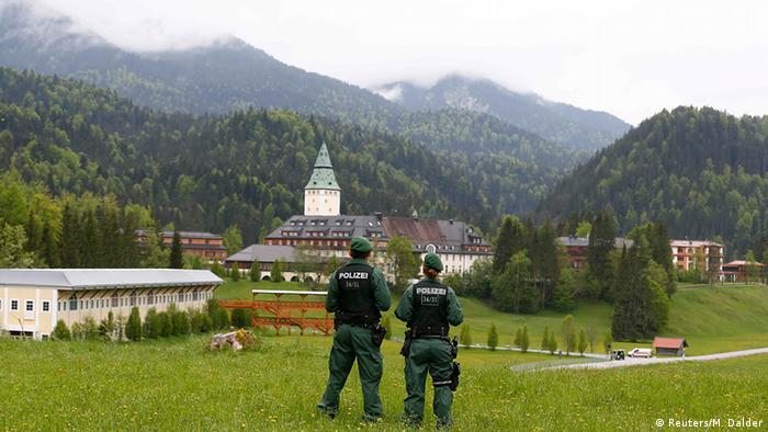 Schloss Elmau where the G7 summit will take place in June 2015