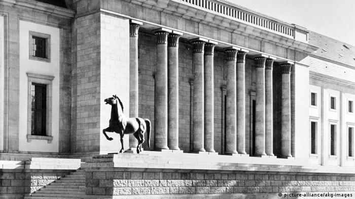 Deutschland Archiv Gartenfront Neue Reichskanzlei