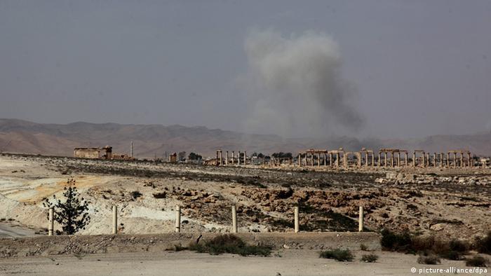 Syrien Kämpfe um Palmyra
