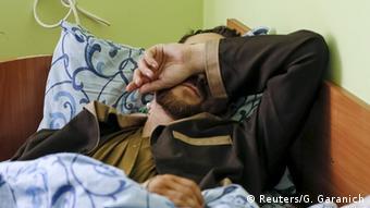 Ukraine Russland gefangen genommener Soldat in Kiew