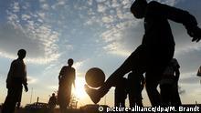 Afrika Straßenfußball (Symbolbild)
