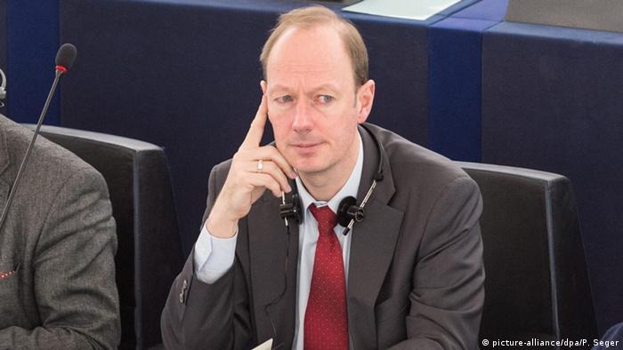 Deutschland Martin Sonneborn von der PARTEI