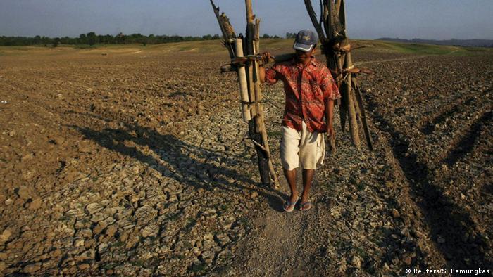 Indien Dürre und Ernteausfall