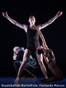 Ришат Юлбарисов, сцена из балета