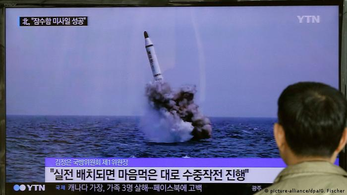 North Korea ballistic missile test fails - report