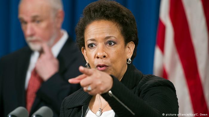 Министр юстиции США Лоретта Линч