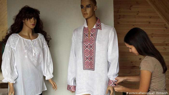 Bluze i košulje s tradicionalnim ukrajinskim vezovima