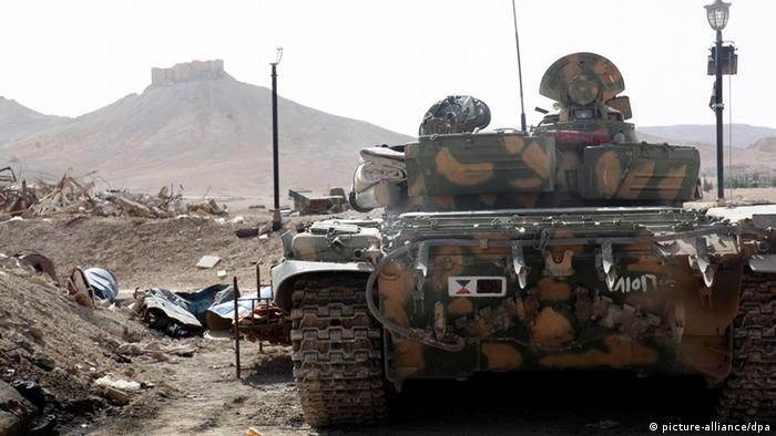 ارتش سوریه مجبور به ترک پالمیرا شده است