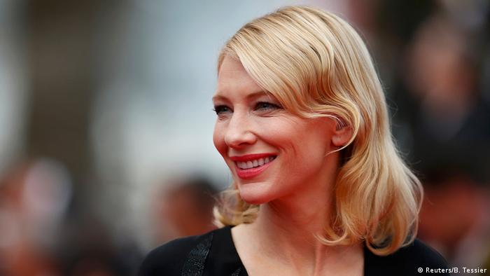 Porträtfoto der Schauspielerin Cate Blanchett