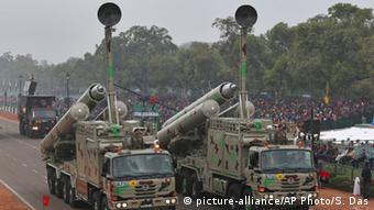 Indien Armee Waffen