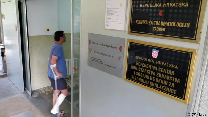 Kroatien Zagreb Gesundheitswesen Krankenhaus