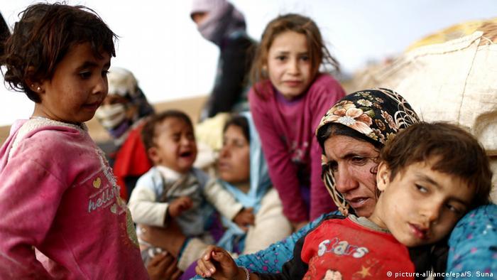 Syrien Flüchtlinge Frauen Kinder