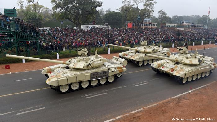 Indien Armee Waffen (Getty Images/AFP/P. Singh)