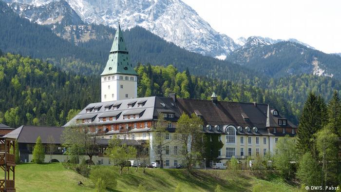 Место проведения саммита G7 - баварский замоку Эльмау