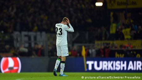 Fußball Borussia Dortmund vs. Borussia Mönchengladbach