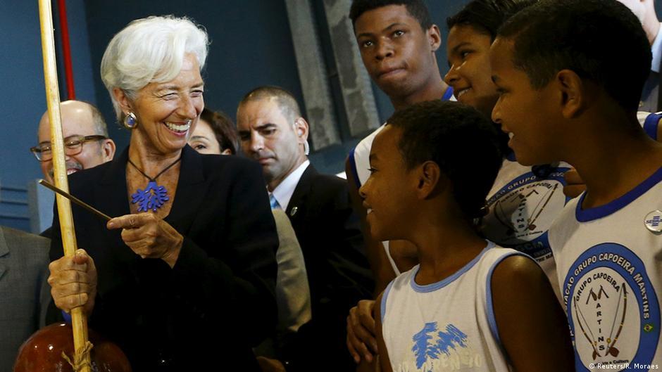 Em visita ao Brasil, chefe do FMI defende disciplina fiscal | DW | 21.05.2015