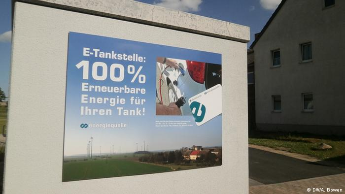 Punionica za elektroautomobile u Feldheimu