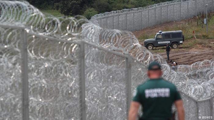 EU border between Bulgaria and Turkey