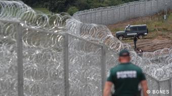 Оградата на българо-турската граница