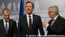 Lettland Großbritannien EU Premierminister David Cameron in Riga