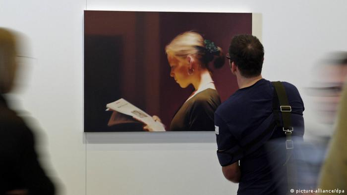 Gerhard Richter artwork. Copyright: picture-alliance/dpa