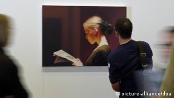 Gerhard Richter's The Reader (picture-alliance/dpa)