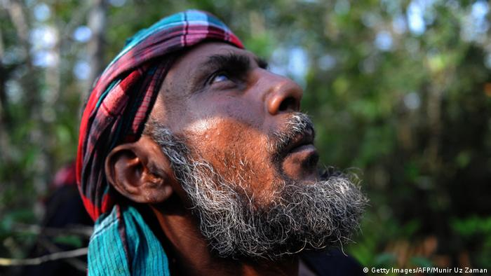 Bangladesch Honigsammler Mowali in The Sundarbans