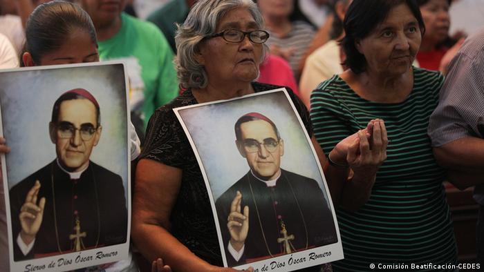 Óscar Romero Selingsprechung (Comisión Beatificación-CEDES)