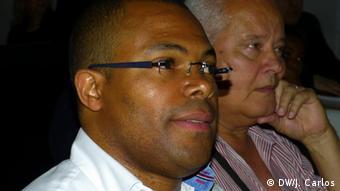 Sao Tome und Príncipe Orlando Piedade Schriftsteller