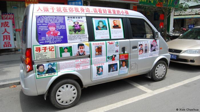 China Xiao Chaohua - Suche nach Kind EINSCHRÄNKUNG