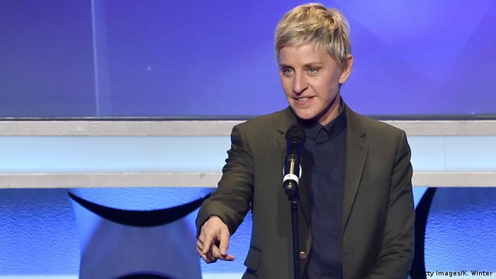 USA Schauspielerin Ellen DeGeneres