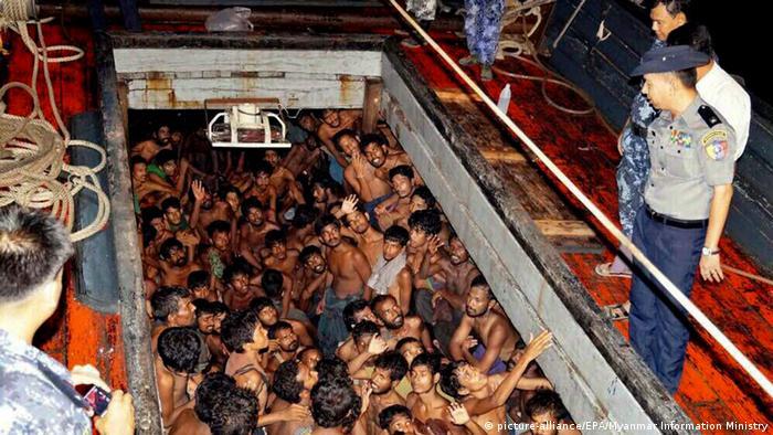 Myanmar Rettung von Flüchtlingen