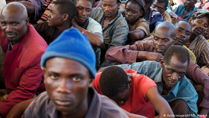 Tansania Flüchtlinge aus Burundi Cholera (Getty Images/AFP/D. Hayduk)
