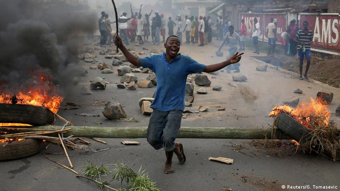 Post-election violence in Burundi