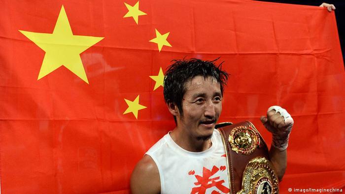 Der chinesische Boxer Zou Shiming Foto: imago