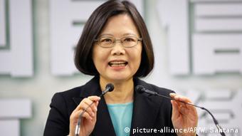 Taiwan Opposition Tsai Ing-wen