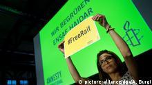 Ensaf Haidar Jahrestagung Amnesty International Deutschland 2015