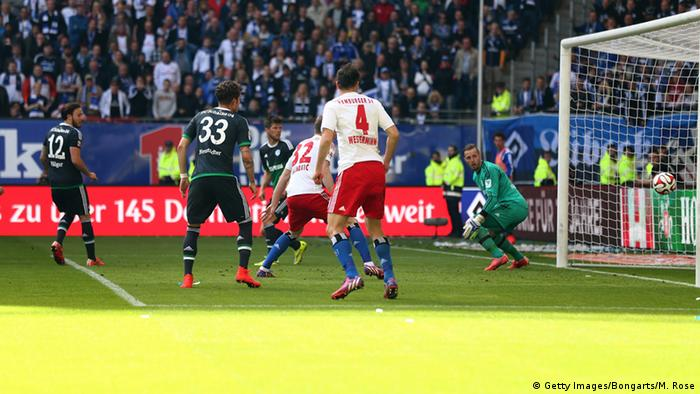 Hamburg score against Schalke