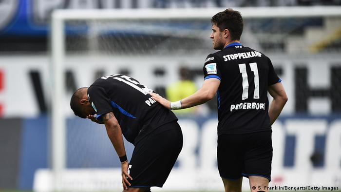 Bundesliga SC Paderborn 07 gegen VfB Stuttgart