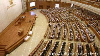 Das Parlament von Myanmar