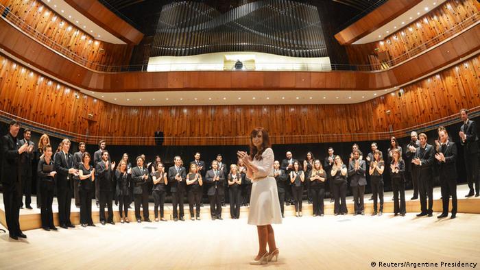 Eröffnung Kirchner Cultural Center in Buenos Aires
