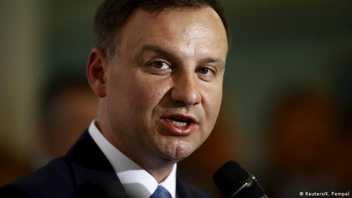 Wahl Polen 2015 Kandidaten Duda