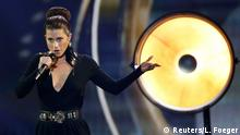 Singer Ann Sophie representing Germany performs the song Black Smoke during the final of the 60th annual Eurovision Song Contest in Vienna, Austria May 23, 2015. REUTERS/Leonhard Foeger