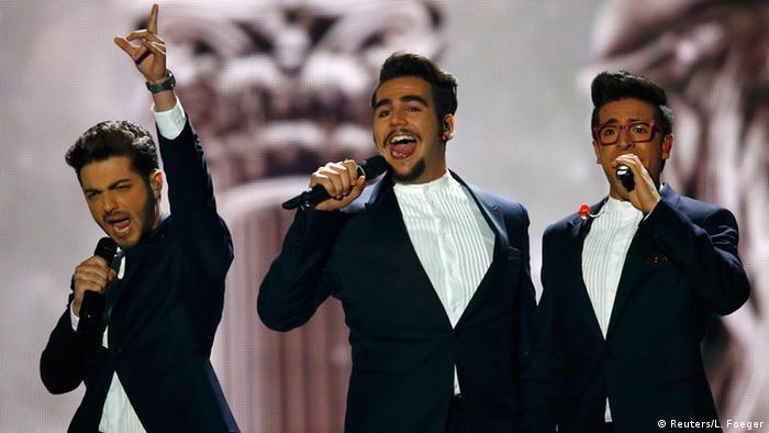Il Volo из Италии на сцене Евровидения-2015 в Вене