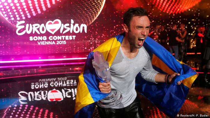 Монс Зелмерлёв принес Швеции шестую победу в финале Евровидения