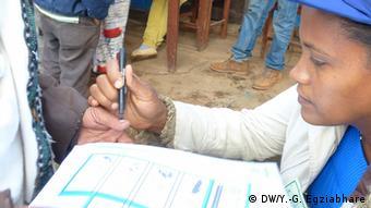 Wahltag in Äthiopien Hosaena