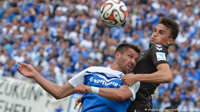 Fußball 2. Bundesliga SV Darmstadt 98 vs. FC St. Pauli