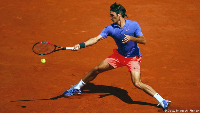 Tennis French Open Roger Federer