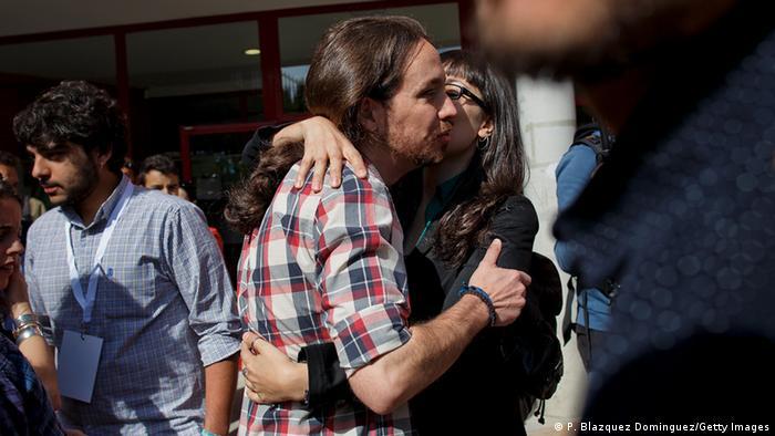 Wahl Spanien 2015 Podemos Pablo Iglesias