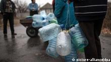 Ostukraine: Trnkwassermangel nach Zerstörung von Hauptversorgungsleitung